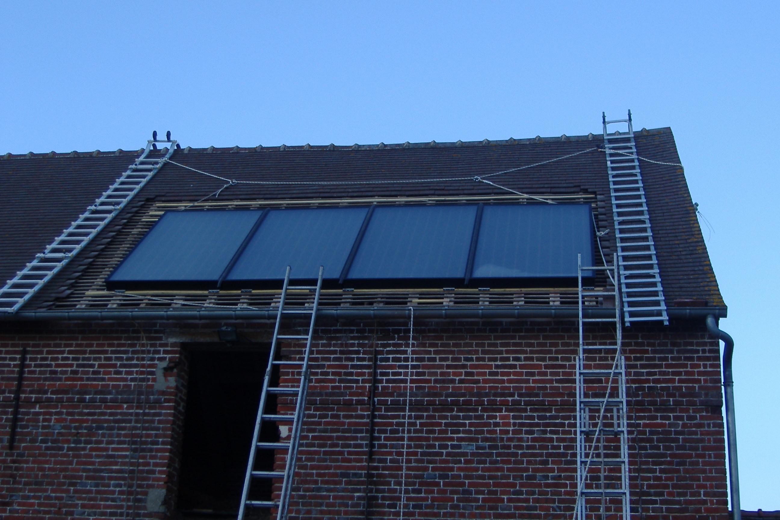 Solaire thermique - Capteur d energie solaire ...